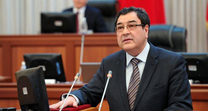 Экс-вице-премьер-министр КР по безопасности, правопорядку и вопросам границ Шамиль Атаханов. Архивное фото