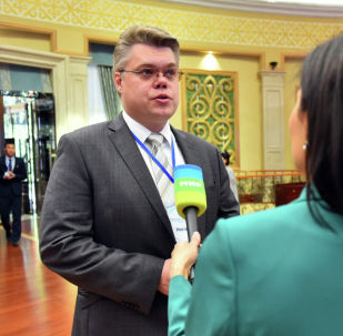 Руководитель центра международных проектов МИА Россия сегодня Василий Пушков