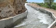Жумгал районунда 3,5 миңден ашуун жашоочуну сугат суу менен камсыздай турган суткалык жөнгө салуу бассейни ишке берилди