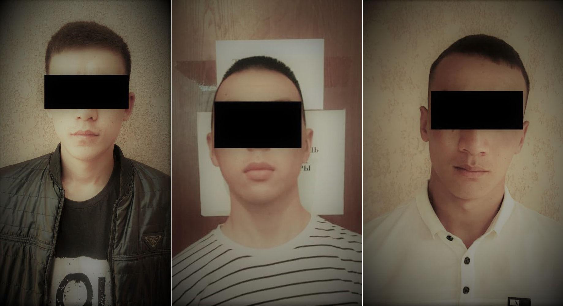 Подозреваемые в разбойном нападении на АЗС в Бишкеке
