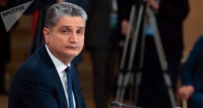 Председатель коллегии Евразийской экономической комиссии Тигран Саркисян. Архивное фото