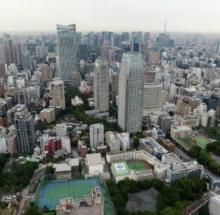 Токио шаары. Япония. Архив