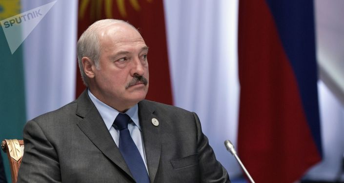 Президент Белоруссии Александр Лукашенко во время заседания Высшего Евразийского экономического совета в Нур-Султане.