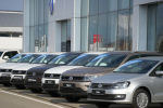 Автомобили Volkswagen. Архивное фото