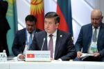 Президент Кыргызской Республики Сооронбай Жээнбеков на заседании Высшего Евразийского экономического совета в Нур-Султане