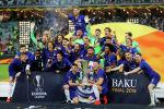 Футболисты Челси после победы над Арсеналом в лондонском дерби в рамках финала Лиги Европы сезона-2018/19 в Баку