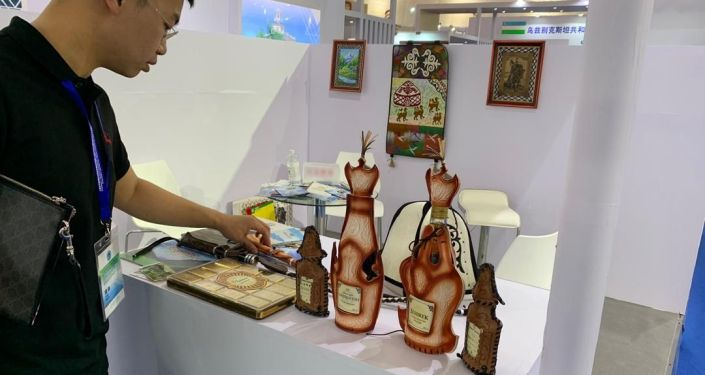 Международное информационное агентство и радио Sputnik Кыргызстан приняло участие в оформлении демонстрационной зоны Кыргызской Республики в рамках Международной выставки (EXPO) по инвестициям и торговле стран ШОС