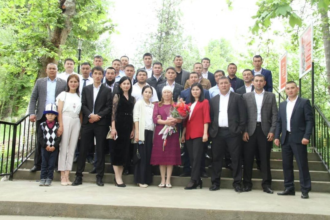 Школа села Ала-Бука Джалал-Абадской области
