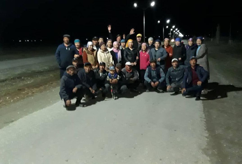 Выпускники школы села Ача-Кайынды Ат-Башинского района Нарынской области