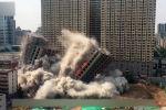 Недостроенные здания не соответствовали нормам безопасности.