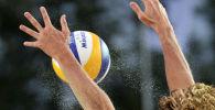 Пляжный волейбол. Архивное фото