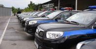 Автомобильная техника, подаренная министерством общественной безопасности Китая