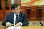 Финансылык чалгындоо мамлекеттик кызматынын төрагасы Гуламжан Анарбаев. Архив
