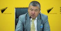 Хоккей федерациясынын биринчи вице-президенти Муратбек Жакыпов