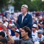 Айт намаз Бишкектеги эски аянтта окулду