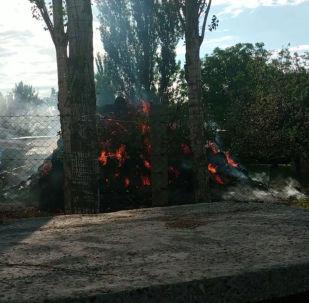 В селе Орок Сокулукского района Чуйской области после Айт-намаза произошла драка, спровоцировавшая конфликт между местными жителями. Сюда стянуто много сотрудников милиции.