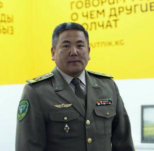 Мамлекеттик чек ара кызматынын жетекчисинин орун басары, полковник Абдикарим Алимбаев