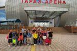 Юные спортсменки из Кыргызстана завоевали 14 наград на открытом чемпионате Жамбылской области по художественной и эстетической групповой гимнастике