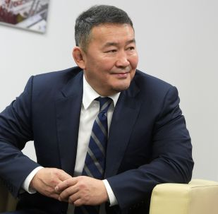 Архивное фото президента Монголии Халтмаагийна Баттулга