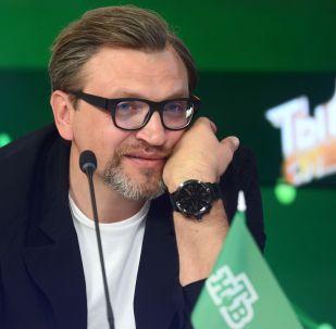 Телеведущий Вадим Такменев. Архивное фото