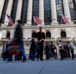 Нью-Йоркская фондовая биржа. Архивное фото