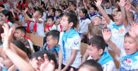 В 37 школах столицы открылись лагеря
