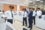 Премьер-министр Мухаммедкалый Абылгазиев Ички иштер министрлигинин санариптешкен командалык борборунун курулуш иштери менен таанышып чыкты