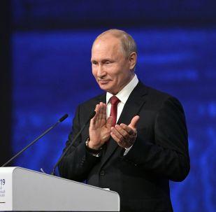 Россиянын президенти Владимир Путин. Архивдик сүрөт