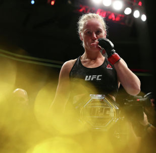 UFC чемпиону Валентина Шевченко. Архивдик сүрөт