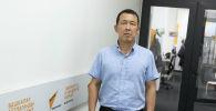 Бишкек жылуулук энерго ишканасынын башкы инженери Баимбет Байгараев