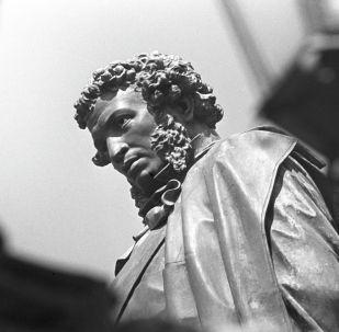 Памятник Александру Сергеевичу Пушкину. Архивное фото