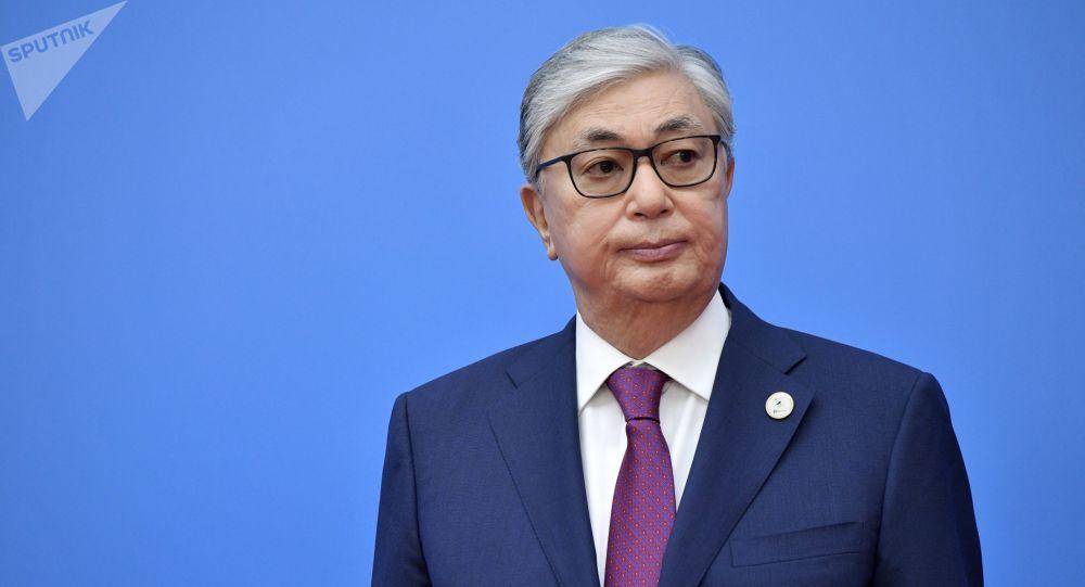 Архивное фото президента Казахстана Касым-Жомарта Токаева
