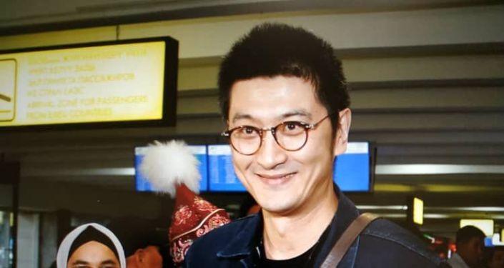 Встреча артистов из Китая, прилетевших в КР для постановки оперы Манас