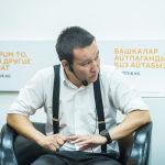 Модератором диалога выступил шеф-редактор Sputnik Кыргызстан Эркин Алымбеков