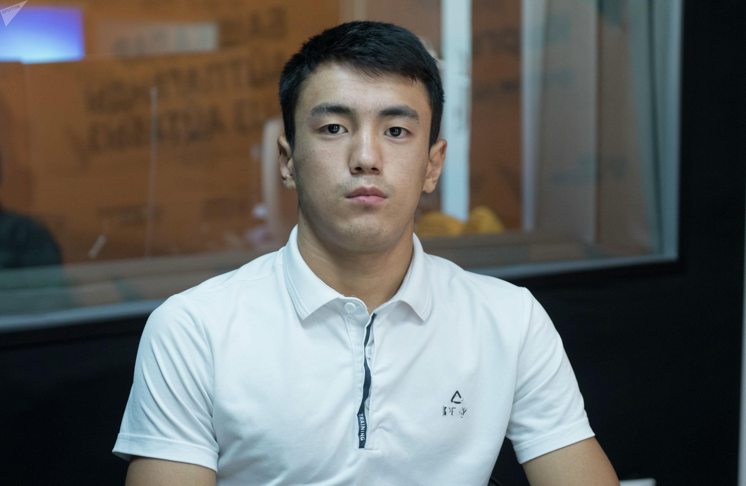 Кыргызстанский спортсмен Эржигит Эрали уулу