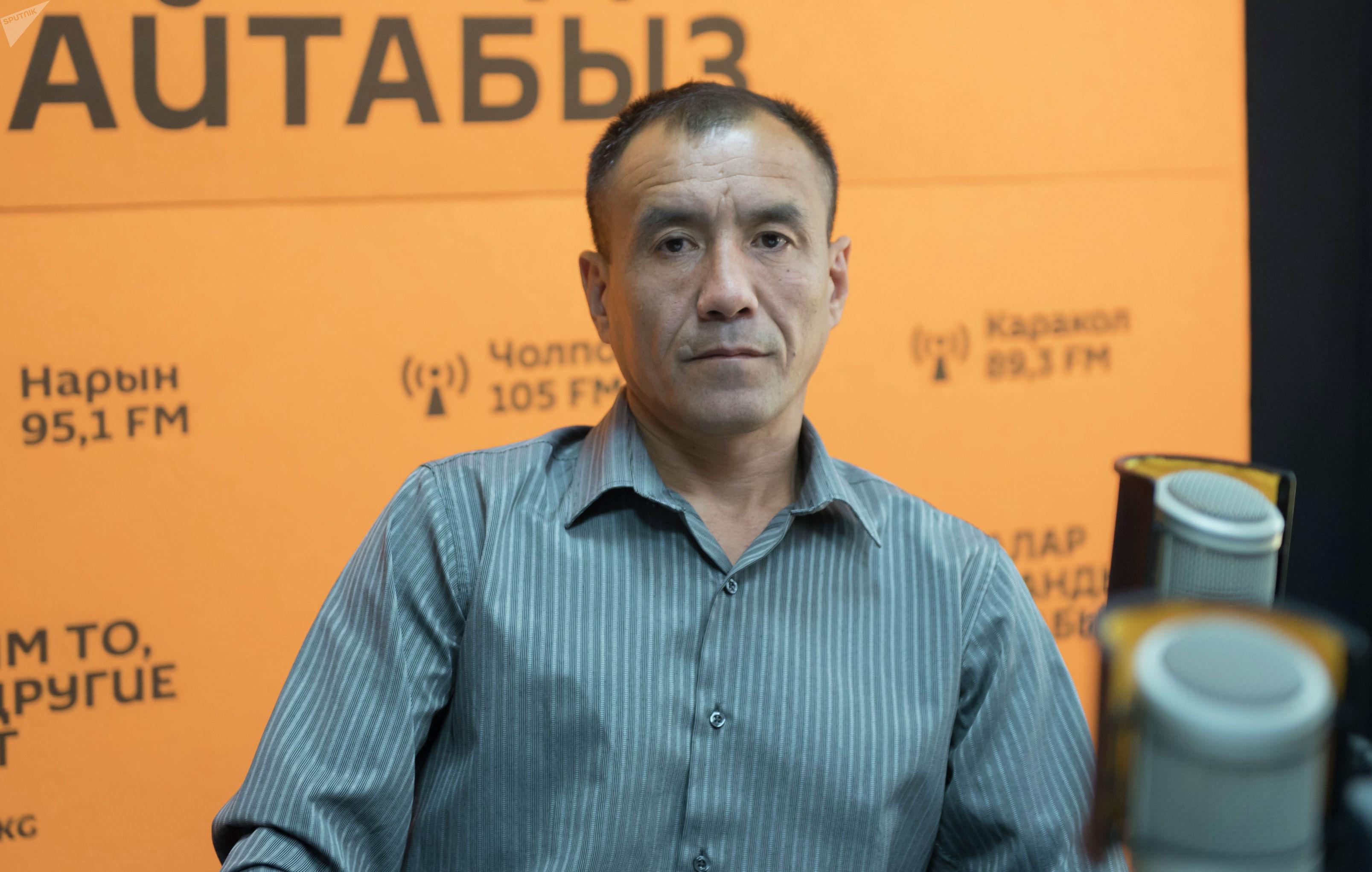 Кыргызстанский спортсмен Эрали Аскарбек уулу