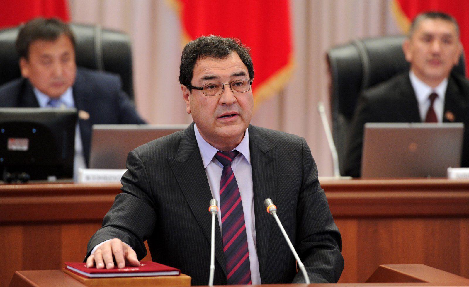 Экс-вице-премьер-министр КР по безопасности, правопорядку и вопросам границ Шамиль Атаханов