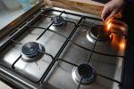 Конфорки газовой плиты.  Архивное фото