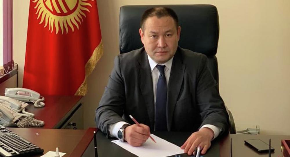 Полномочный представитель правительства в Чуйской области Алтынбек Намазалиев