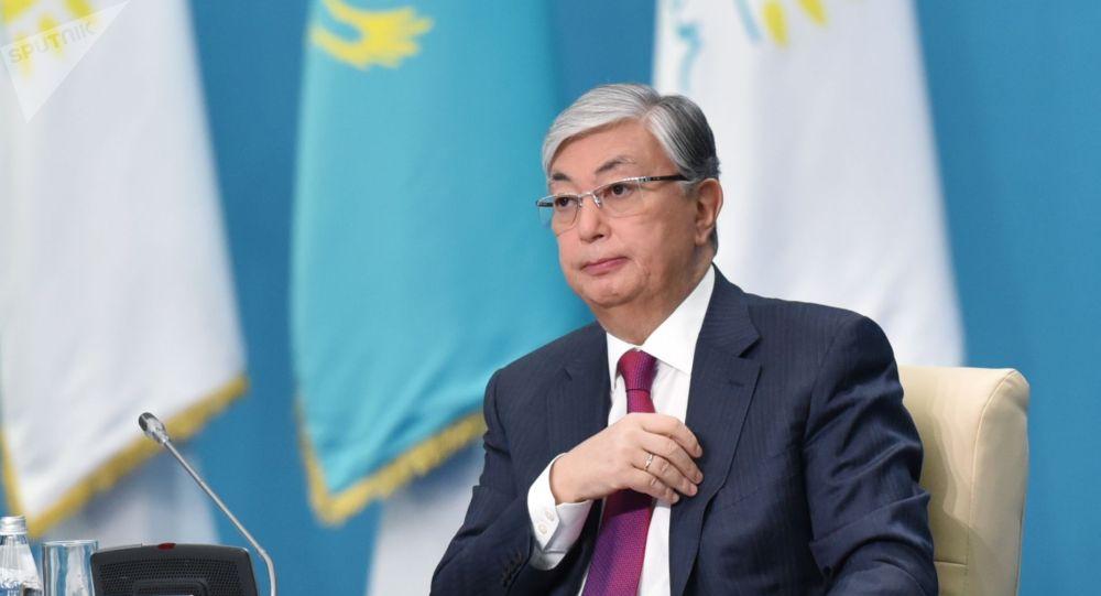 Казакстандын жаңы шайланган президенти Касым-Жоомарт Токаевдин архивдик сүрөтү
