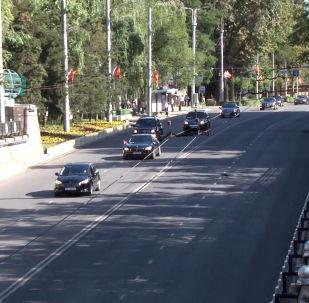 Президент Монголии Халтмаагийн Баттулга сегодня прибыл в Кыргызстан с официальным визитом.