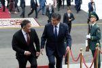 В рамках официального визита президента Монголии Халтмаагийн Баттулги состоялась церемония официальной встречи с президентом Кыргызской Республики Сооронбаем Жээнбековым. 12 июня 2019 года