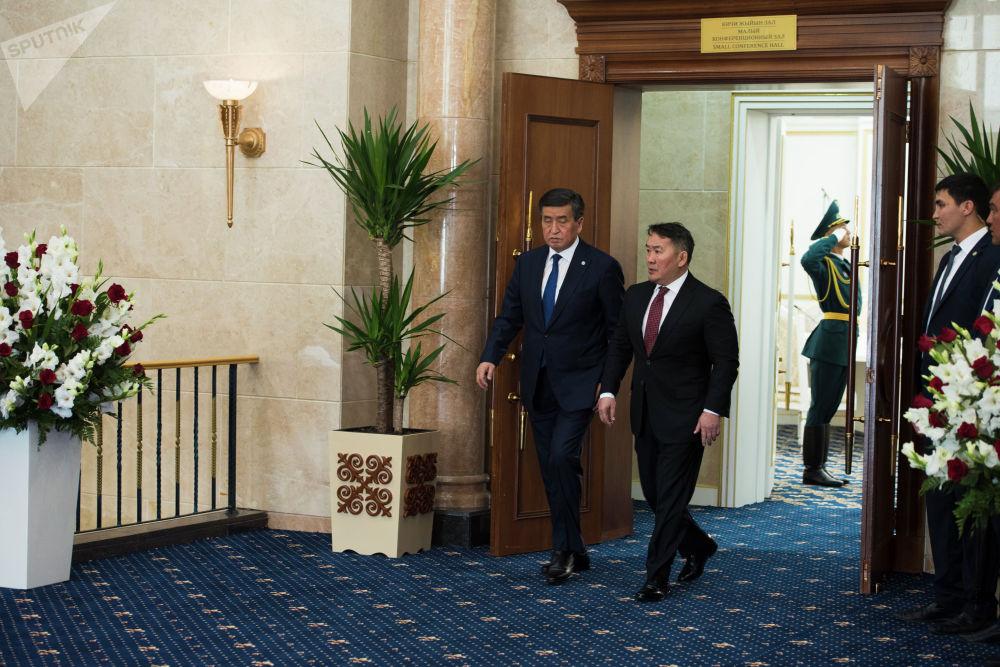 В ходе переговоров президенты обсудили актуальную повестку отношений двух стран