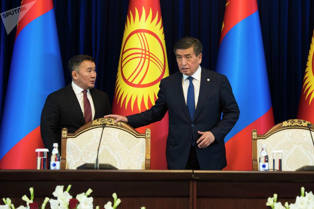 Баттулга заявил, что его страна заинтересована в проекте строительства железной дороги Китай — Кыргызстан — Узбекистан