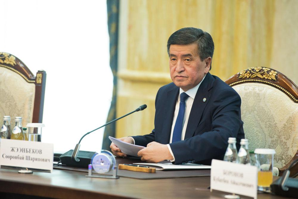 Жээнбеков предложил коллеге провести кыргызско-монгольский бизнес-форум