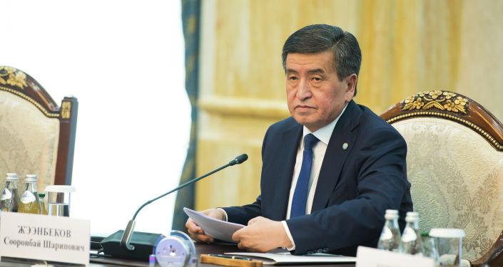 Президент Жээнбеков предложил коллеге провести кыргызско-монгольский бизнес-форум