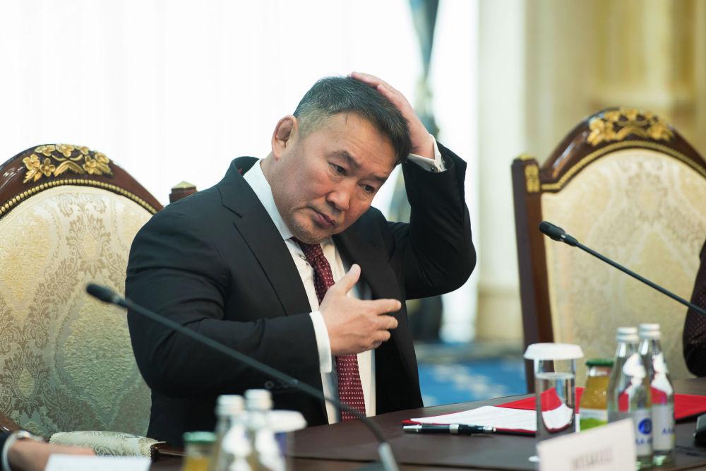 Глава Монголии предложил сотрудничать в банковской сфере и в области пересадки органов, а также открыть туристический маршрут между озерами Хяргас Нуур и Иссык-Куль