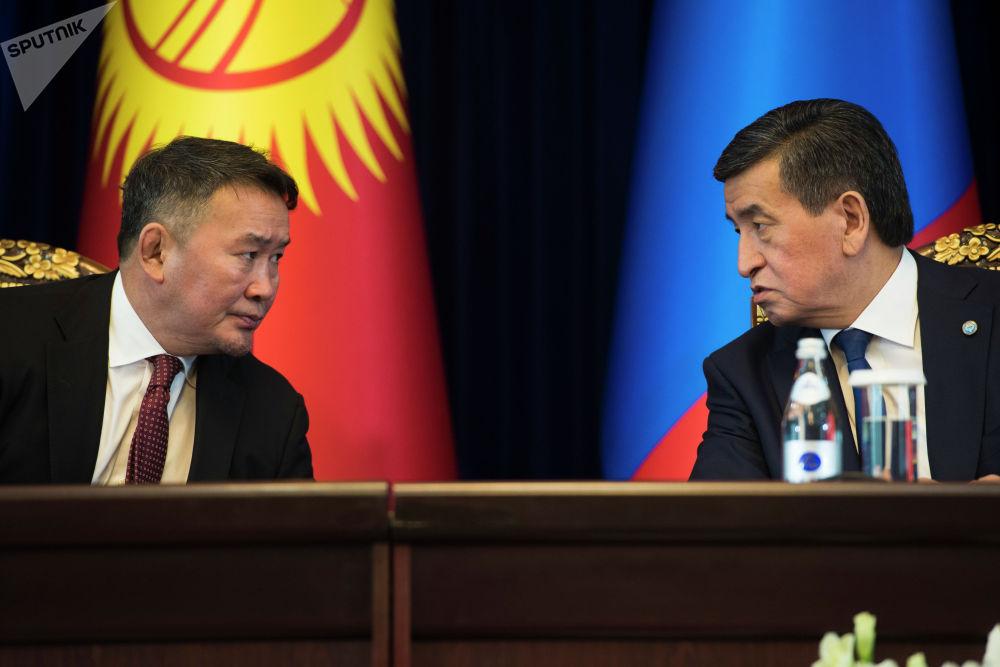 Жээнбеков отметил, что Кыргызстану интересен опыт Монголии в горнорудном секторе и в цифровизации
