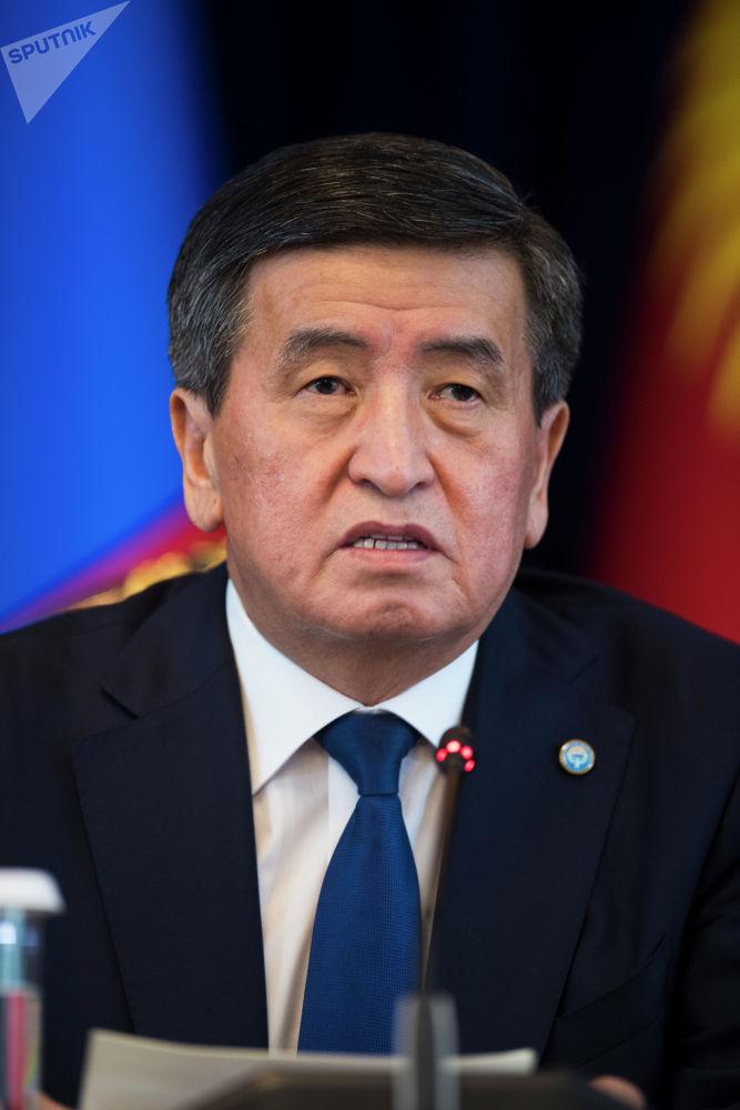 Президент КР также поднял вопрос о необходимости проведения исторических исследований на территории Баян-Улгийского аймака, где проживают этнические кыргызы