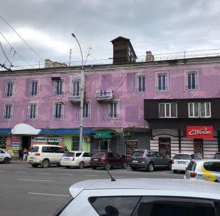 Киев көчөсүндө жайгашкан эски турак үй